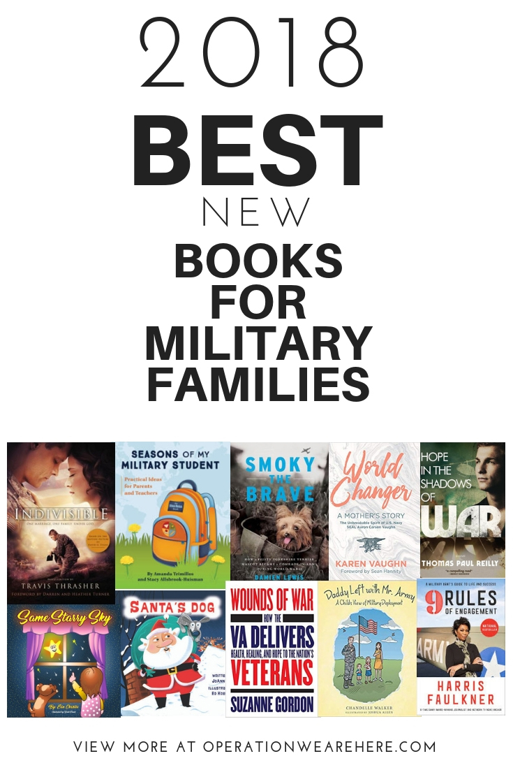 2018 BEST new books for military families #milchild #milfam