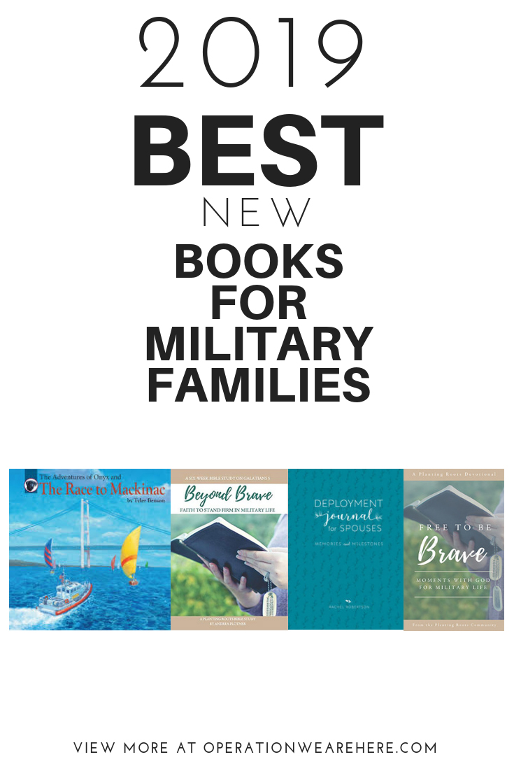 2019 BEST new books for military families #milchild #milfam #militaryspouse