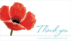 Thank You Cards For Military Veterans