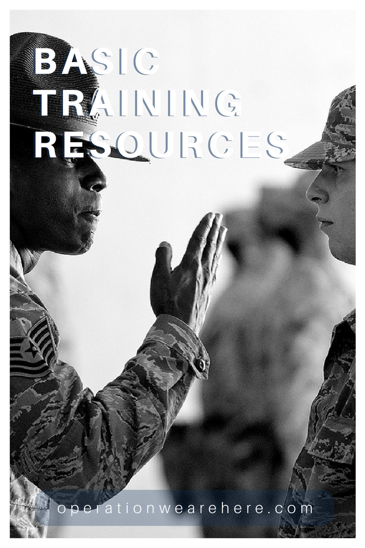 Basic training information and resource websites #AirForce #Army #MarineCorps #Navy