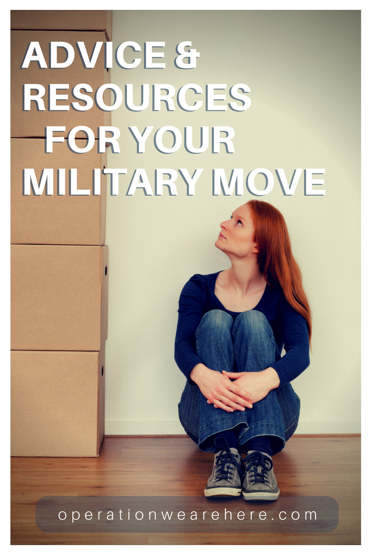 Best resources & books for your next military PCS move!