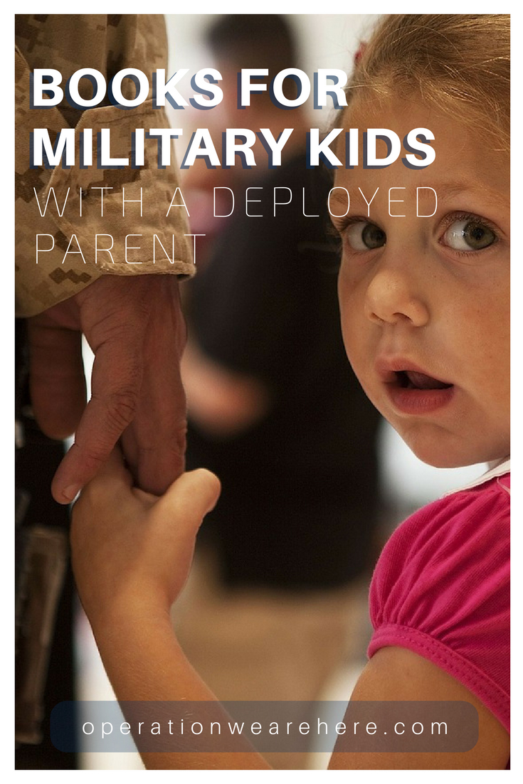 Books for military children with a deployed parent/father