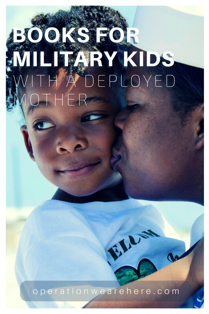 Books for military children with a deployed mother