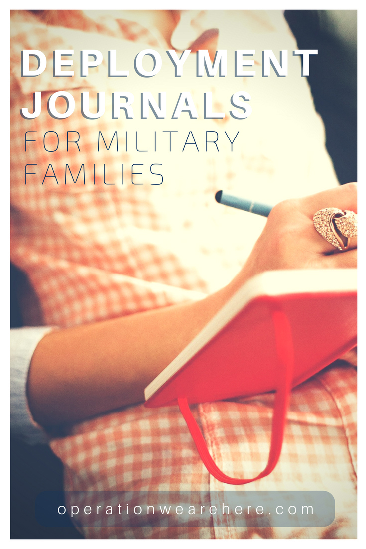 Deployment journals for military families
