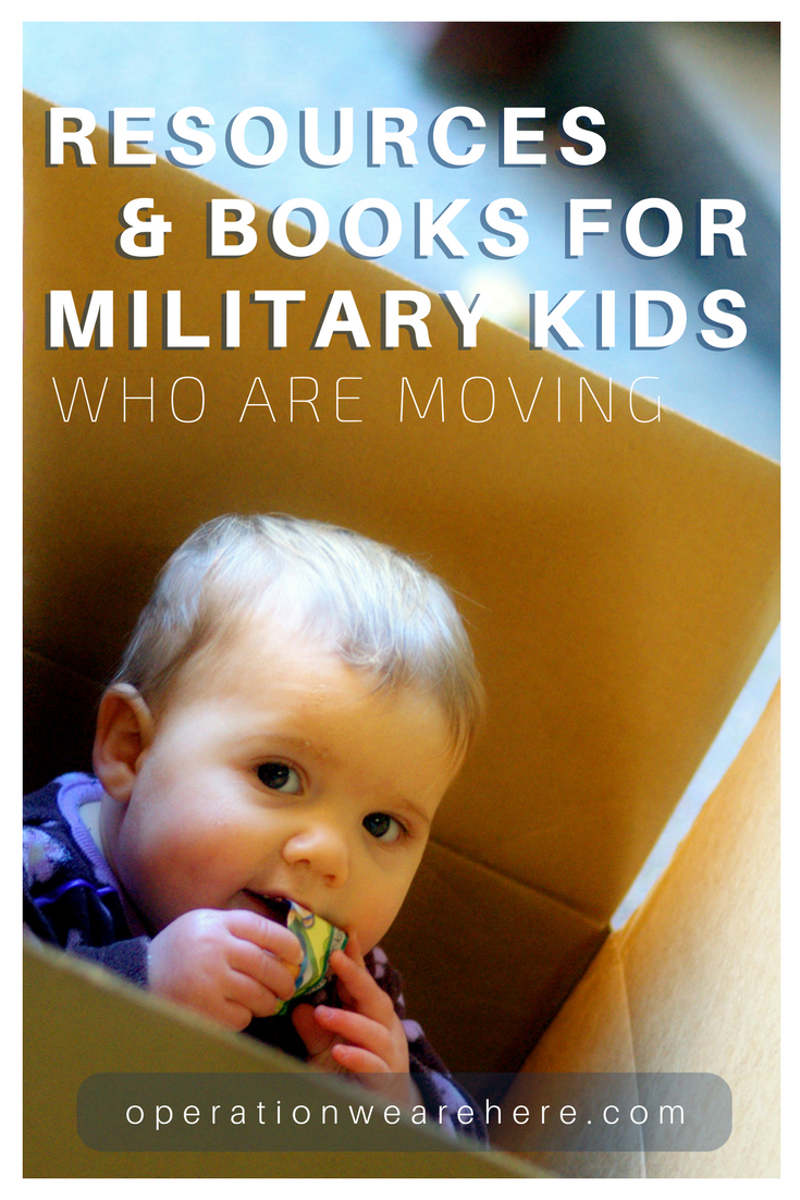 PCS move resources & books for military kids