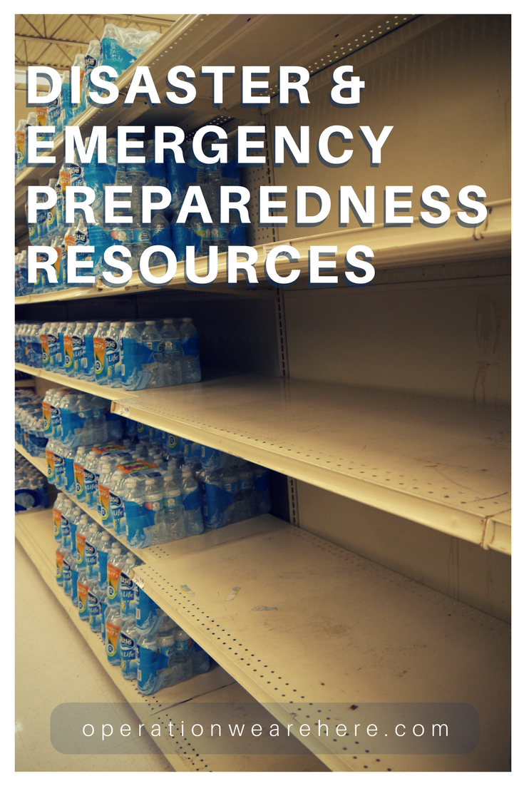 Disaster and emergency preparedness ~ EVERY FAMILY should be aware of these apps and resources!
