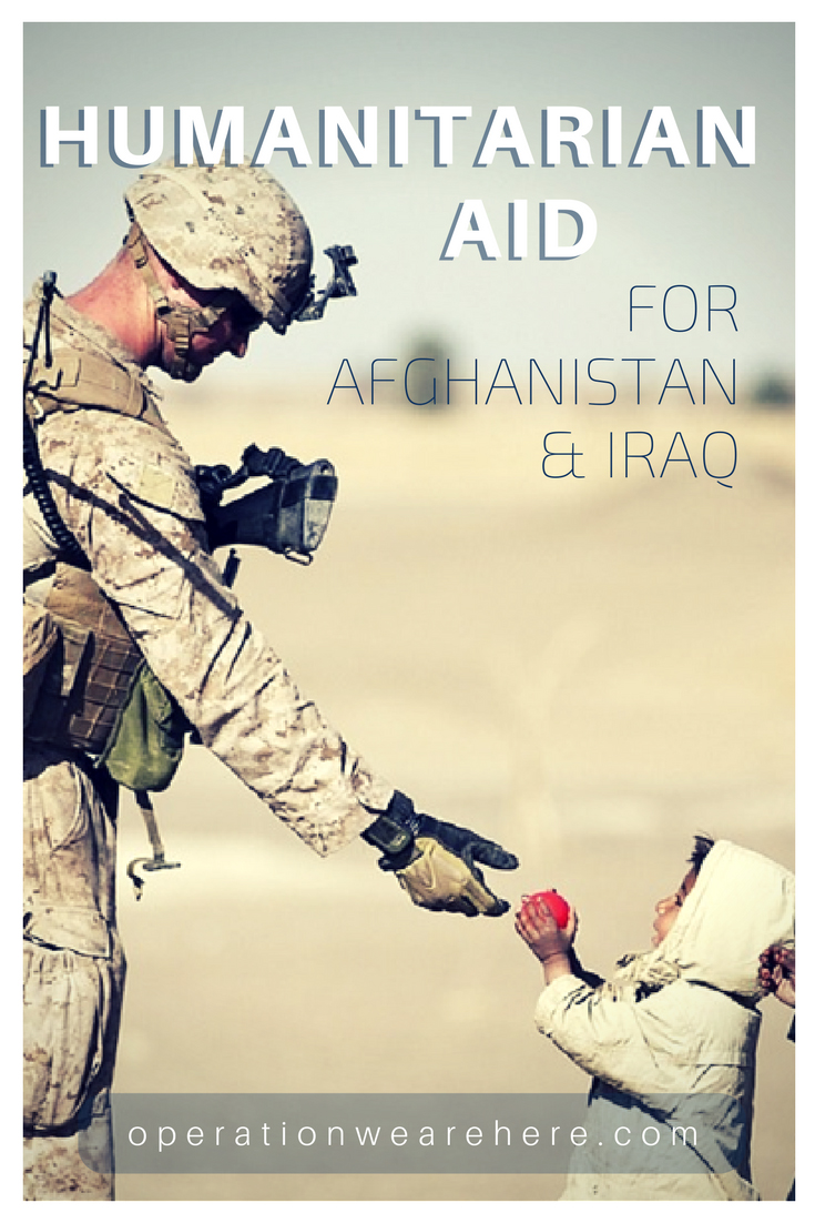 Humanitarian aid for the people of Afghanistan and Iraq #Military #Deployment #Support