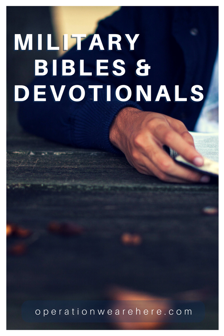 Military devotionals & Bibles for military personnel & their families