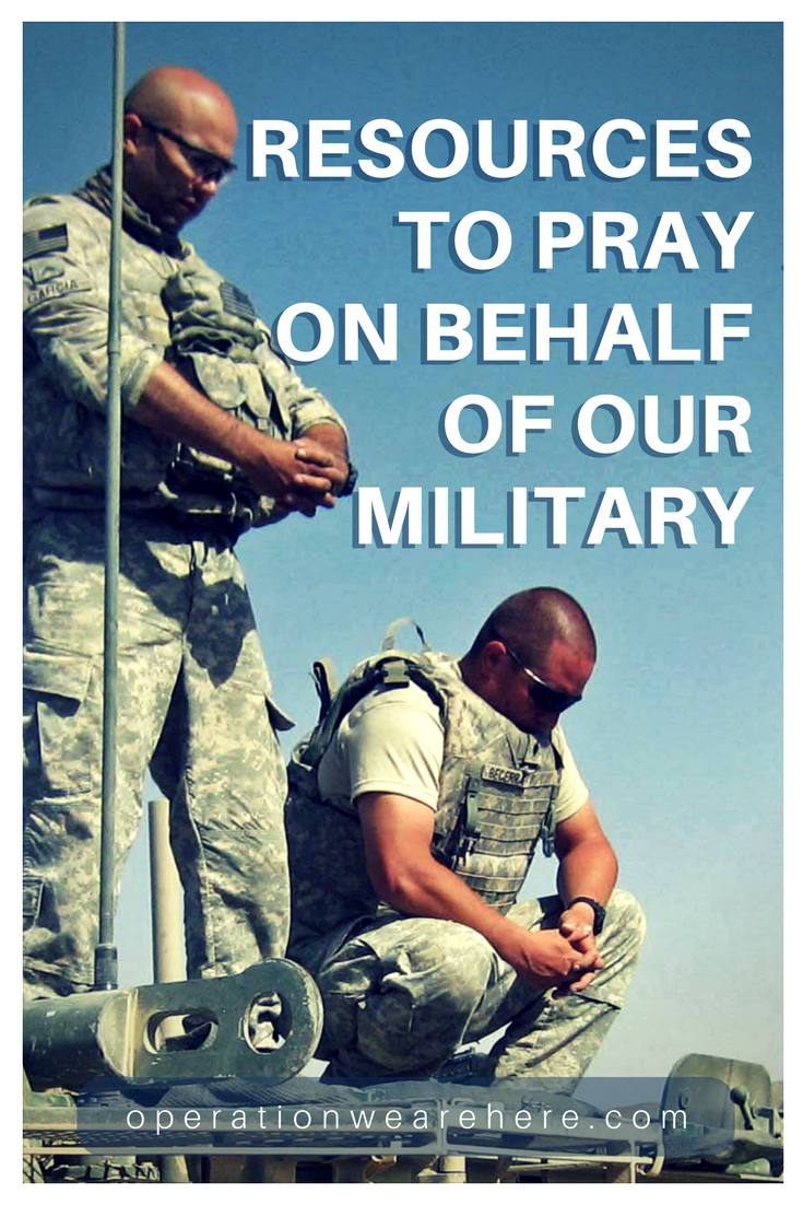 Military Prayer Resources