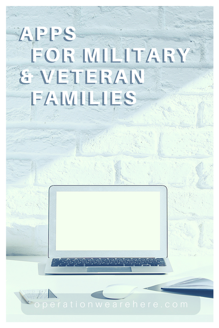 Helpful apps military & veteran families should know about.
