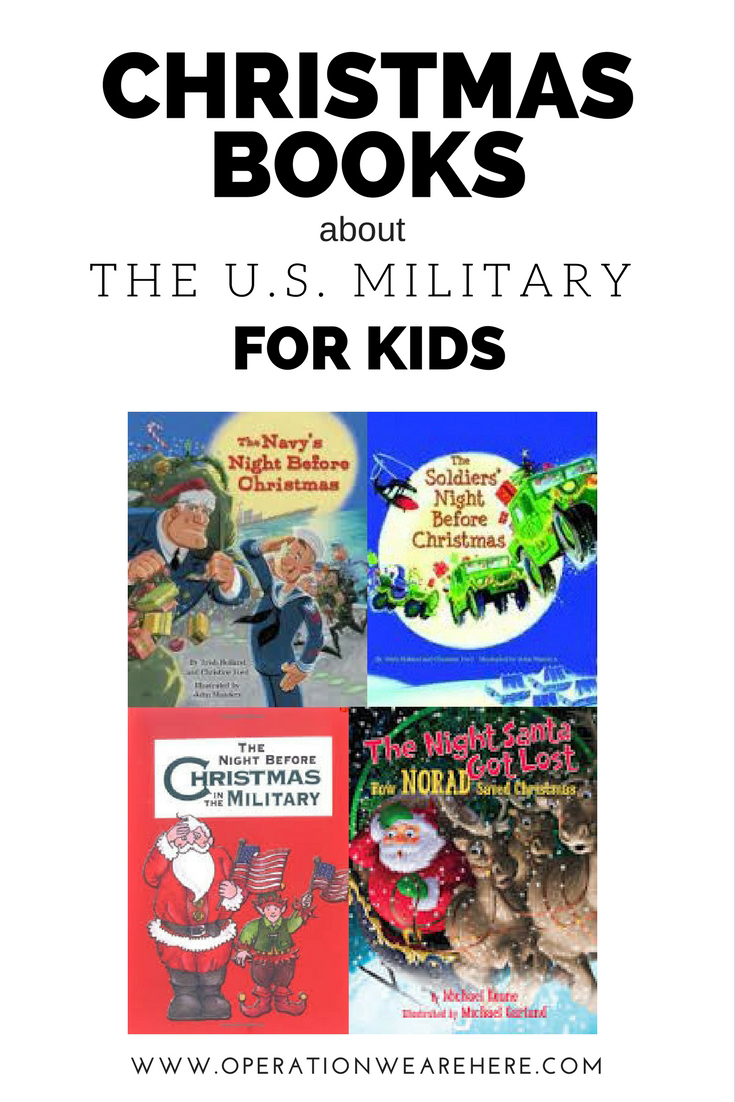 Christmas books every military family should know about!