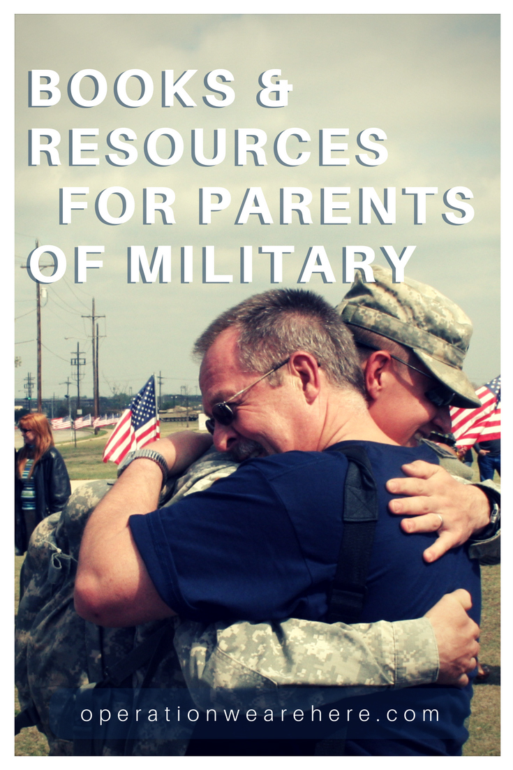 Books & resources to help parents of military personnel