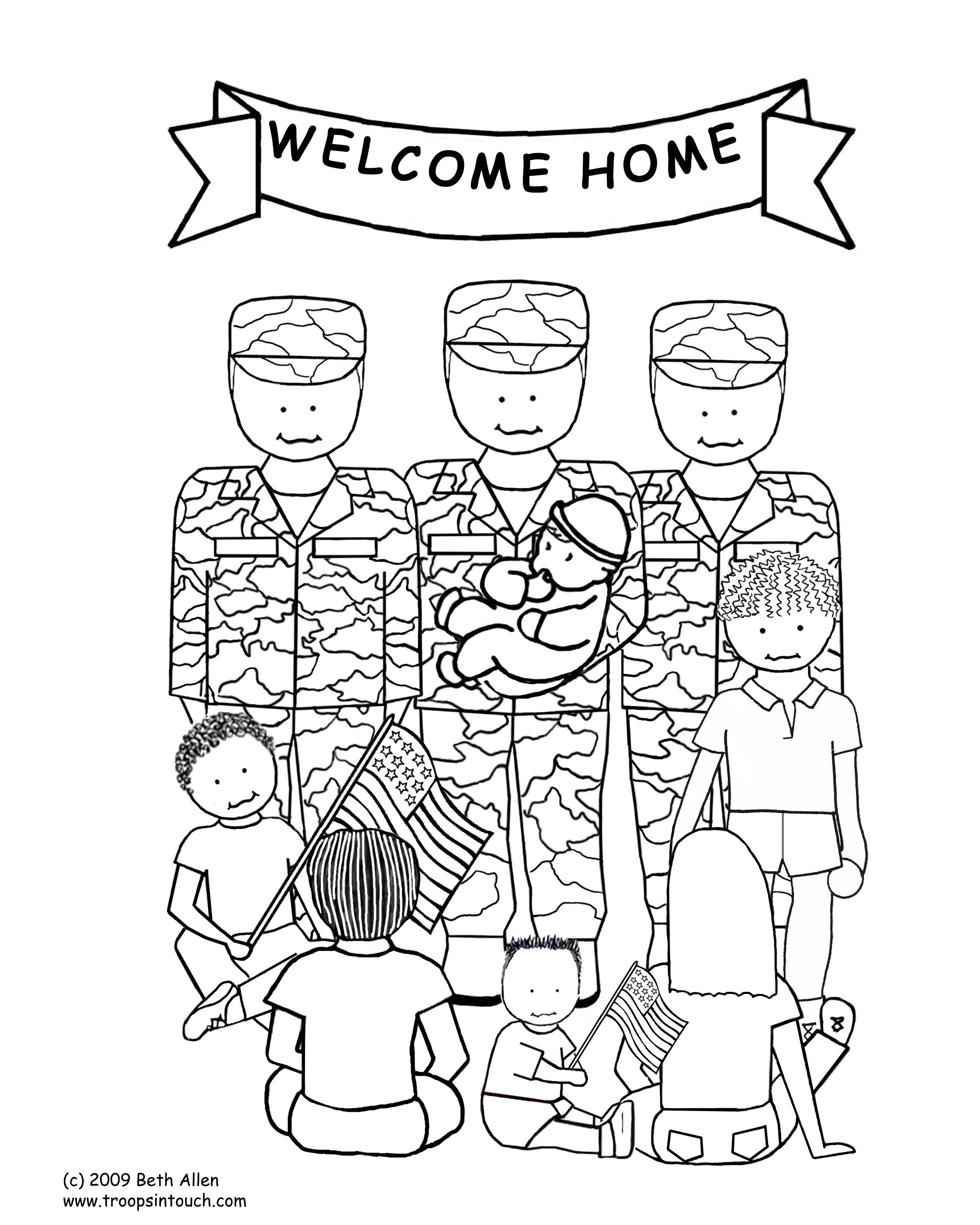 Coloring games of people - Welcome Home