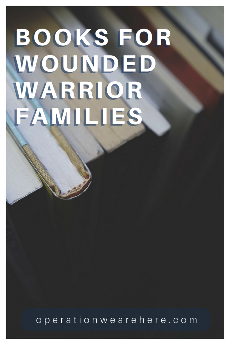 Books for wounded warriors & their families