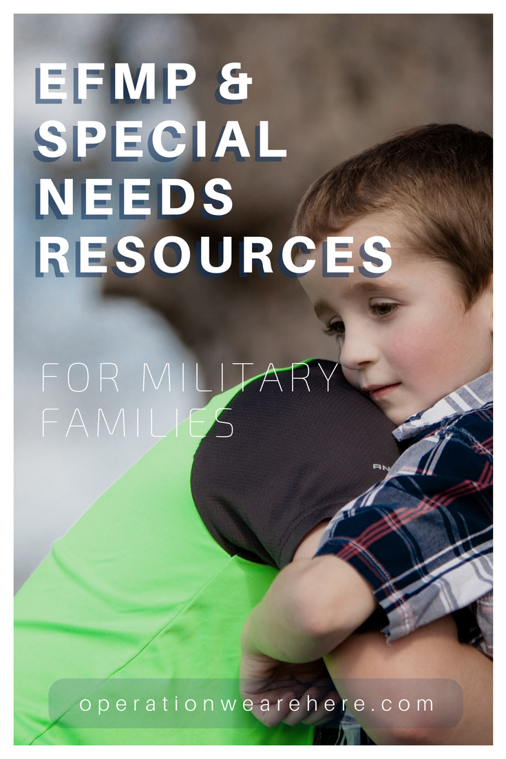 EFMP & special needs resources for military families