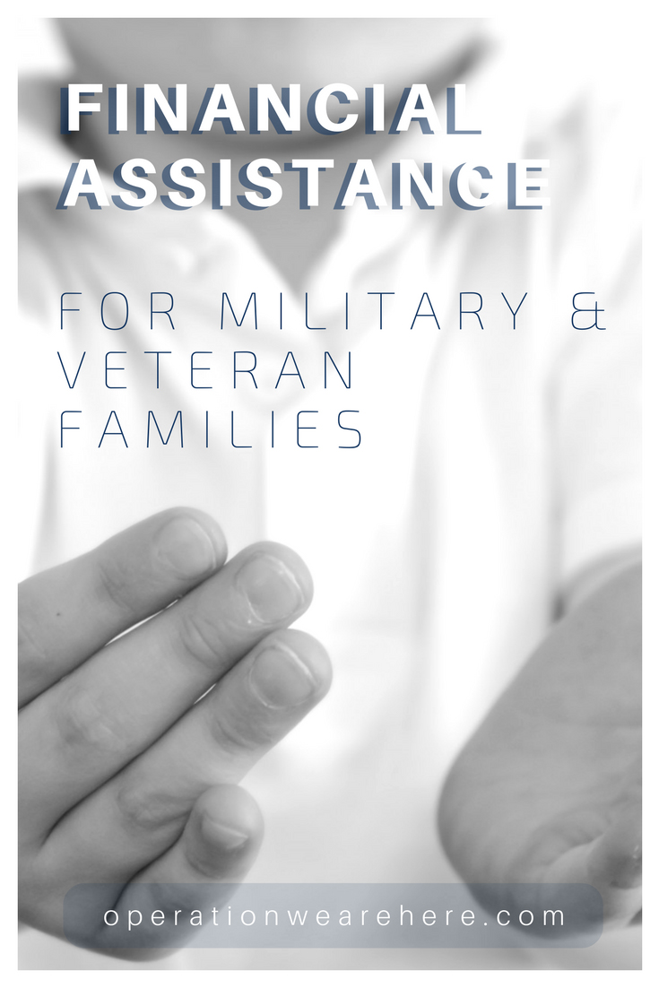 Financial assistance for military & veteran families