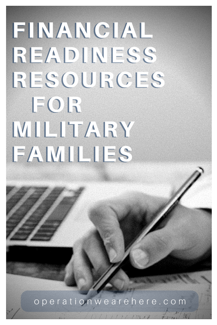 Financial readiness resources for military families
