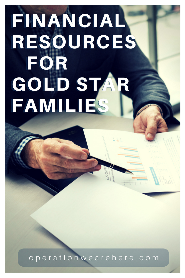 Financial resources for Gold Star families