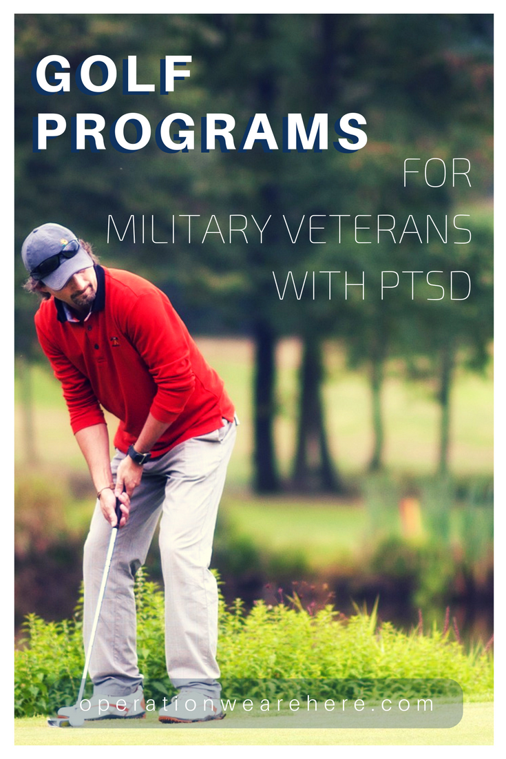 Golf programs for military veterans coping with PTSD & TBI