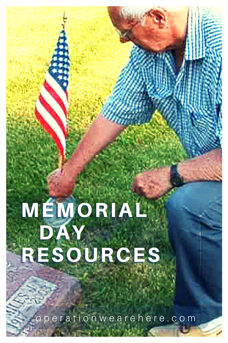 Memorial Day resources #Honor #Remember