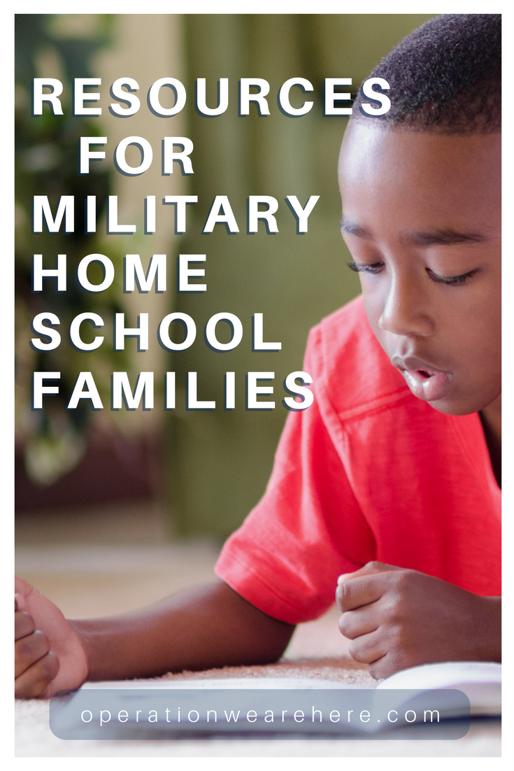 Resources that every military home school family needs to know about! #MilFam #MilChild #MilitaryResources #Military #MemorialDay #VeteransDay #Resources