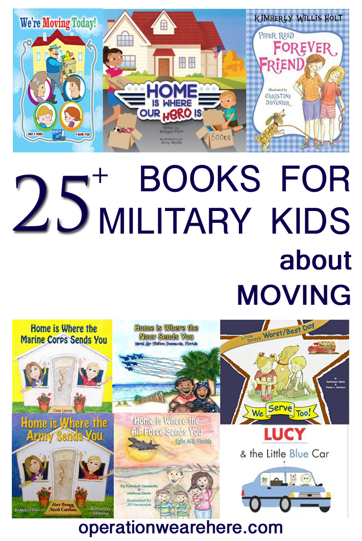 25+ best pcs move books for military kids! #milchild #milfam