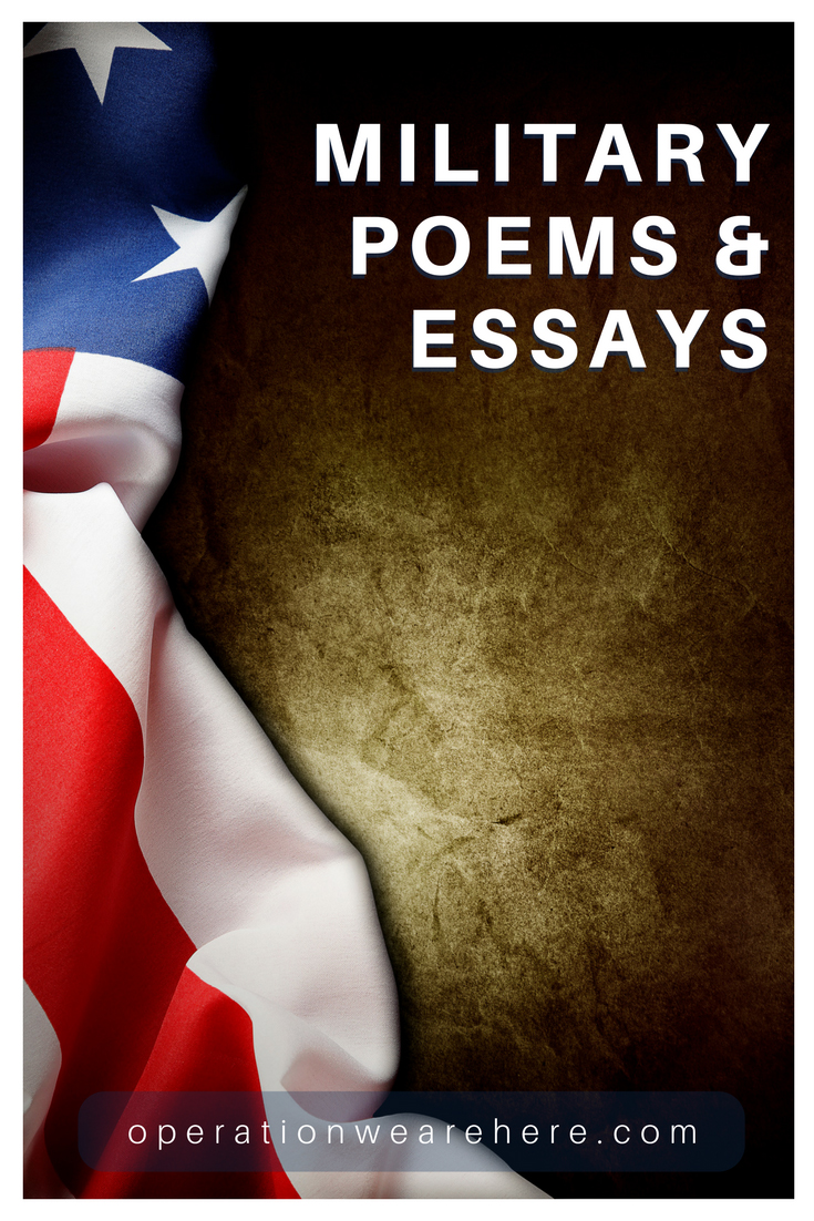 military poems and essays military life poems essays militarylife militaryresources