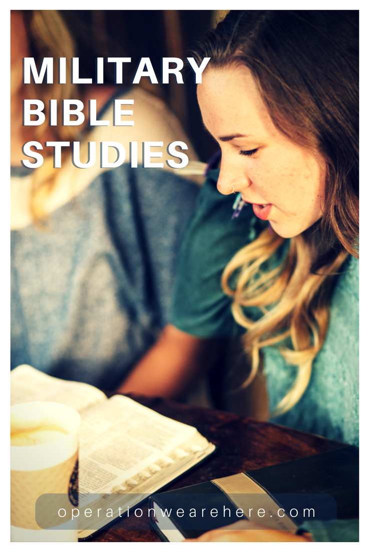 Military Bible studies & resources