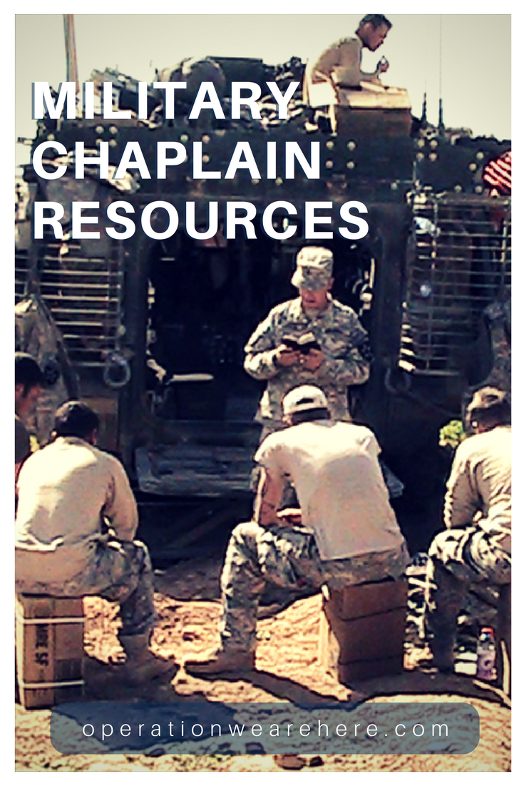 Military chaplain resources fandeluxe