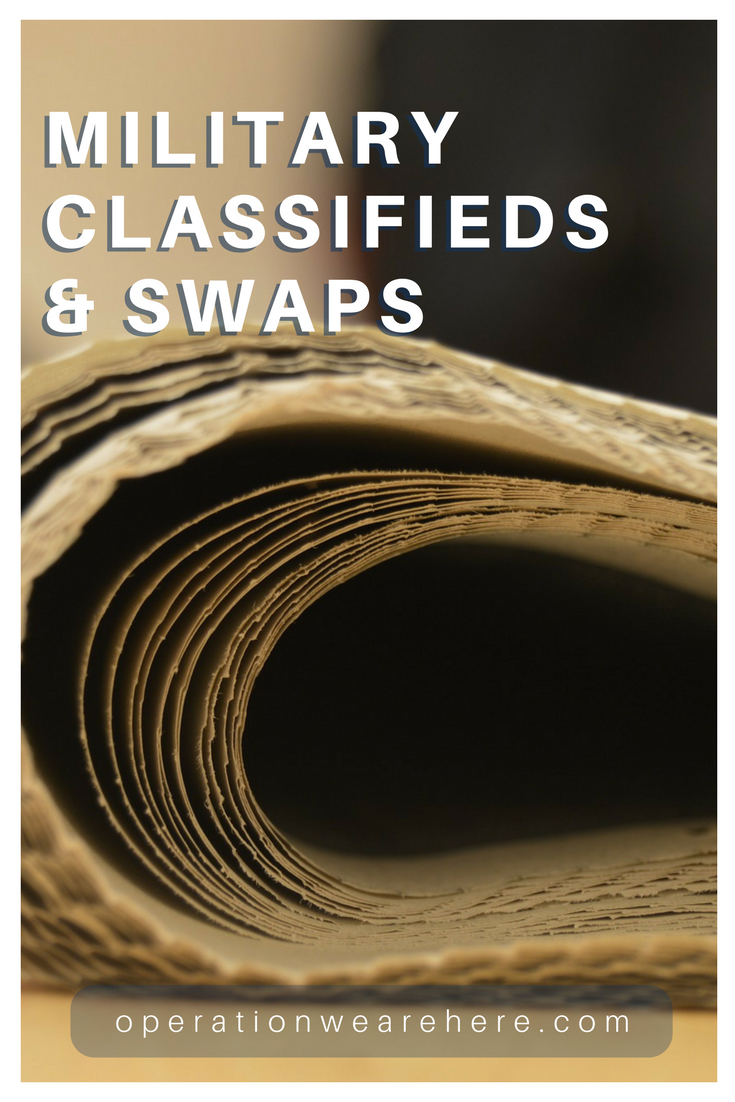 Military classifieds & swaps