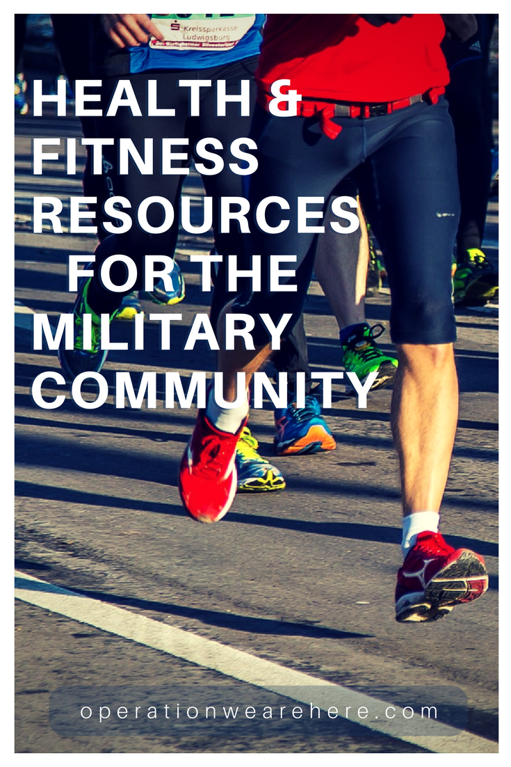 Fitness, health & wellness resources for military & veteran families