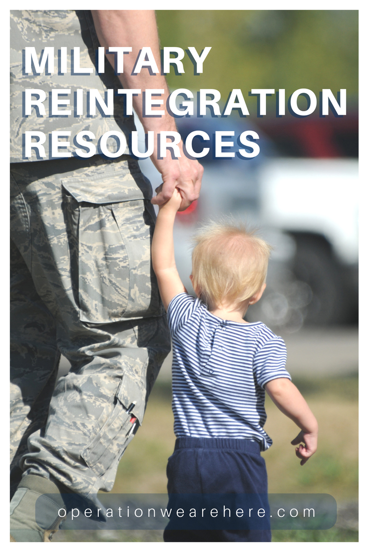 Deployment reintegration resources for military families