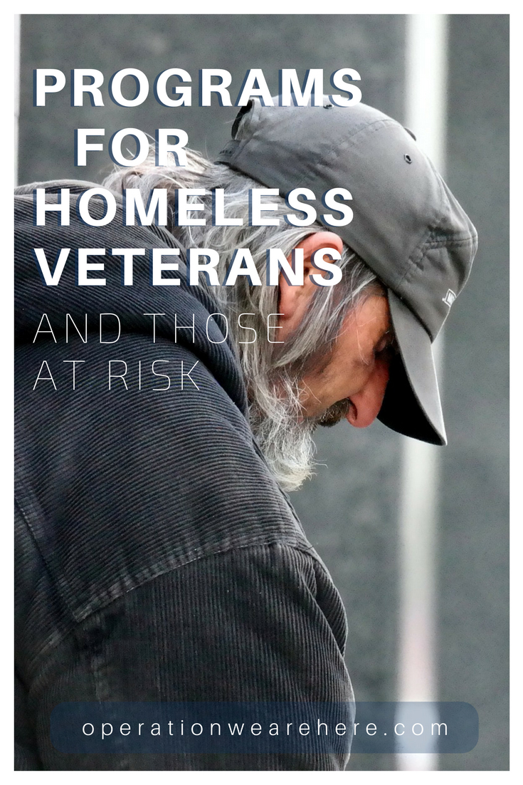 Resources for homeless military veterans & those at risk