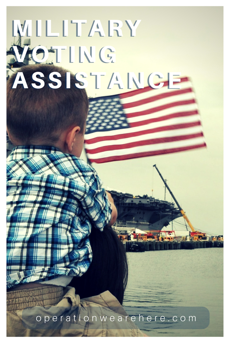 Election & voting assistance for military families