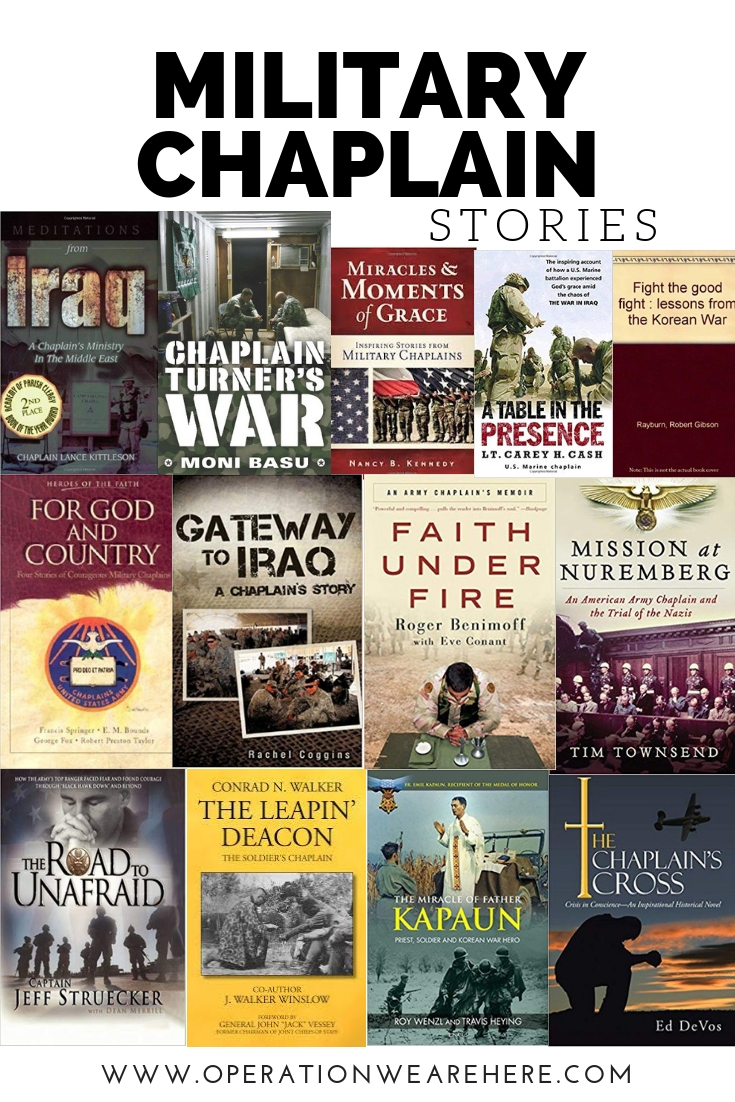 Military chaplain stories & memoirs #books
