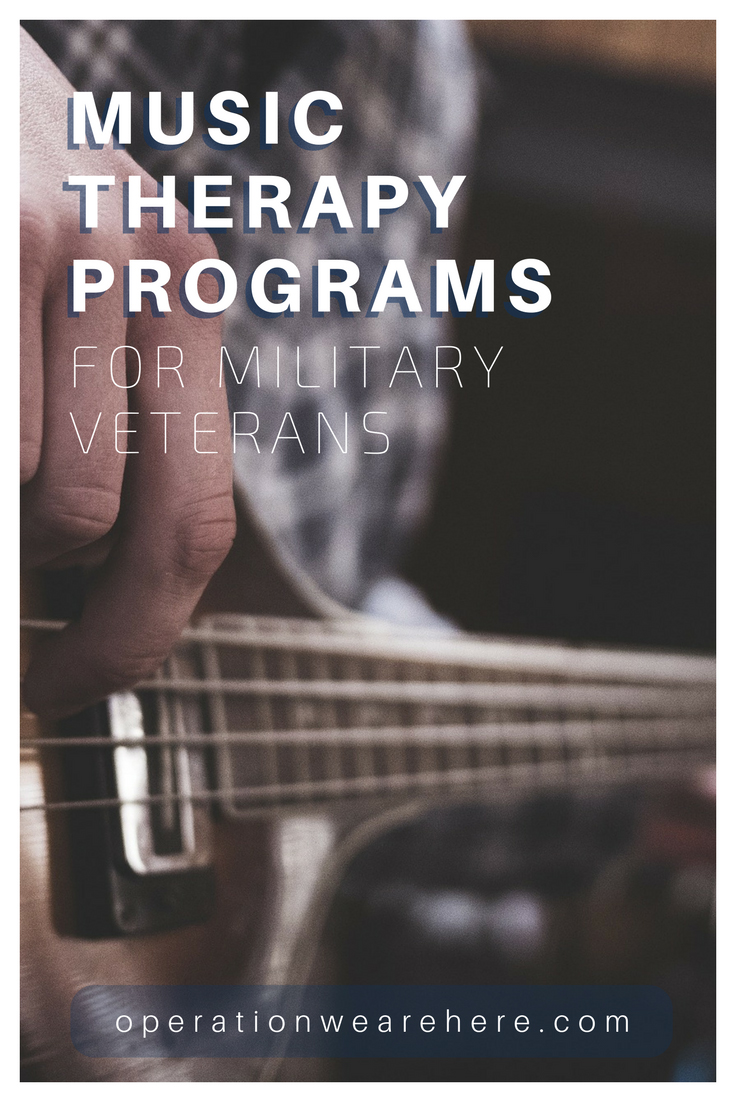 Therapeutic music programs for military veterans #PTSD