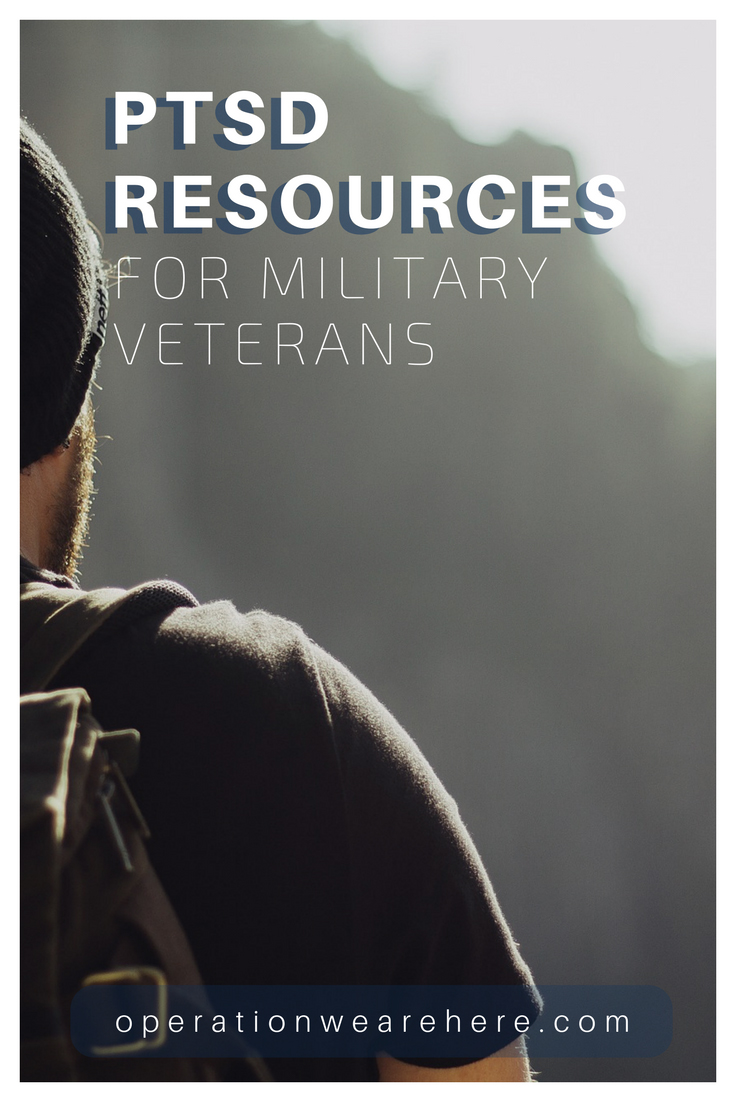 An incredibly helpful list of resources for military veterans with PTSD