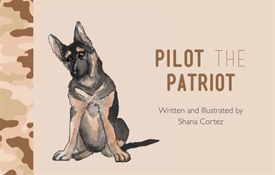 Pilot the Patriot book for military children #deployment