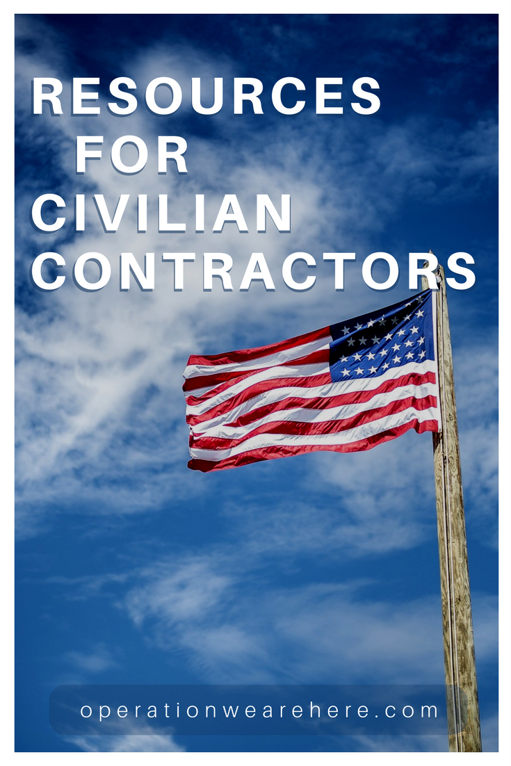 Resources for civilian contractors & their loved ones