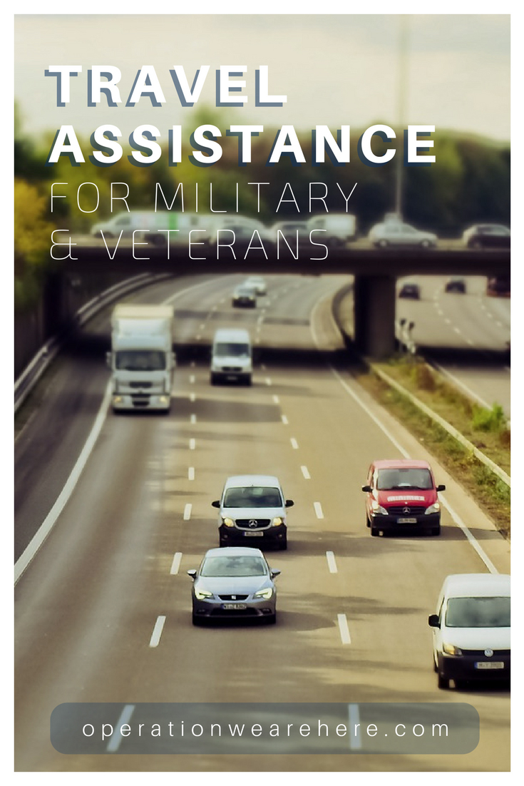 Transportation & travel assistance for military & veterans