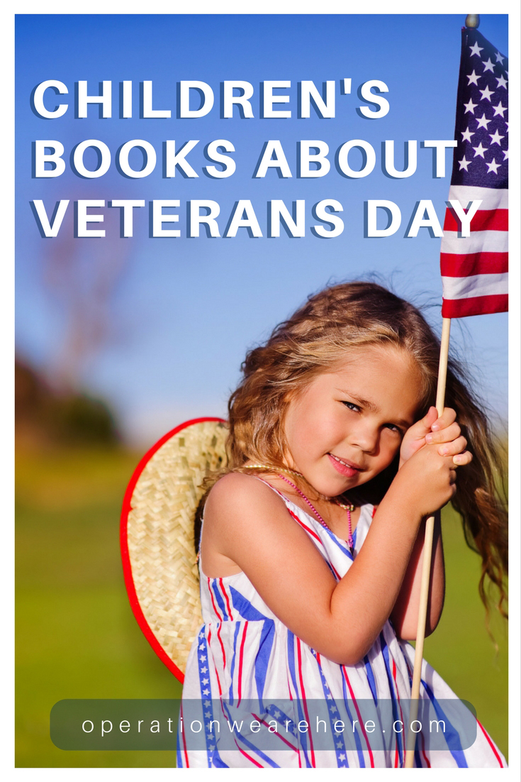List of books to teach kids about Veterans Day