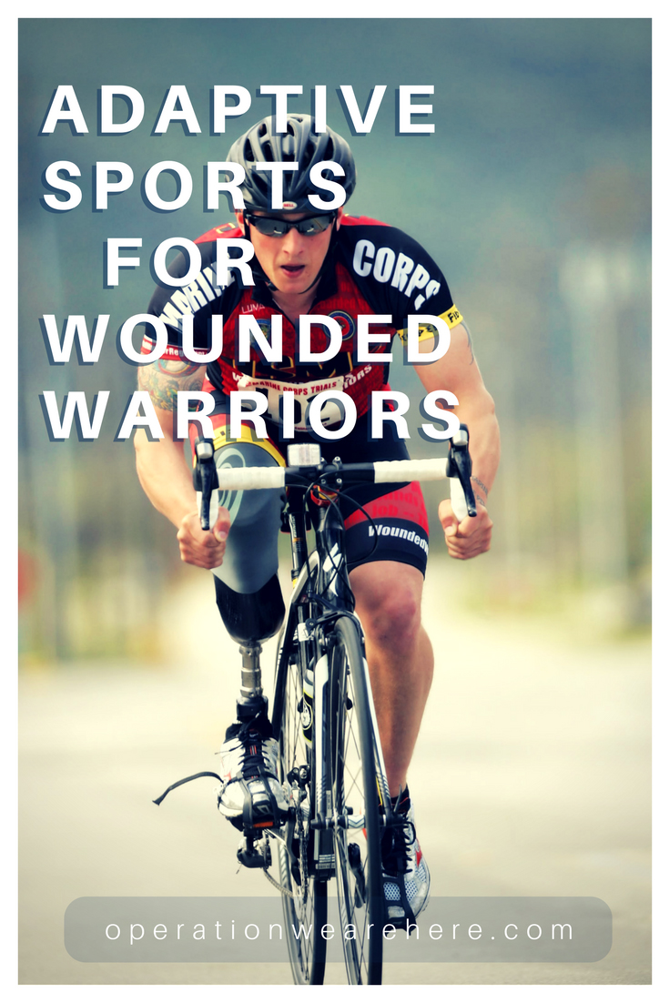 Adaptive sports programs for wounded warriors #Military