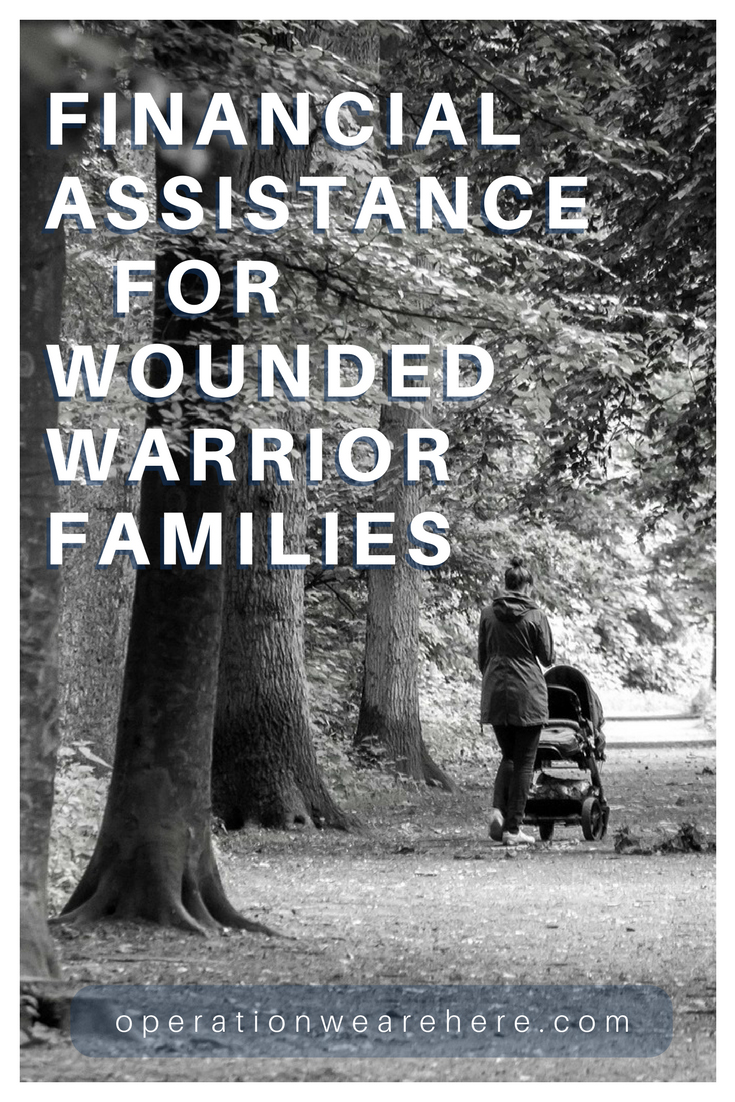 Financial assistance & support for wounded warrior families