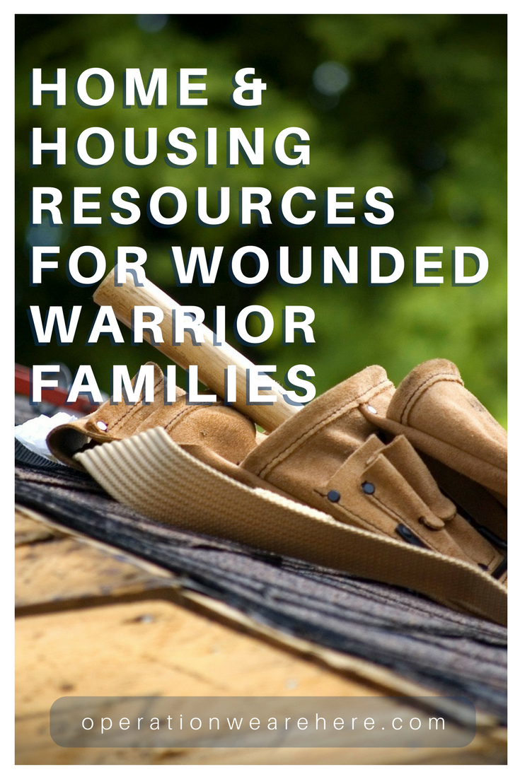 Home and housing assistance for wounded warrior families