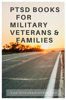 Military PTSD books for military veterans & their families